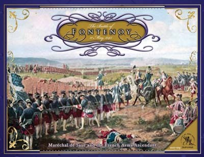 The Battle of Fontenoy, 11 May, 1745