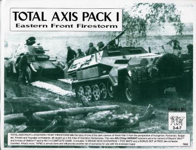 Total Axis Pack I: Eastern Front Firestorm