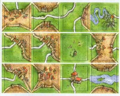 Carcassonne: The Mini Expansion