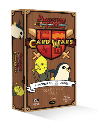 Adventure Time Card Wars: Lemongrab vs. Gunter