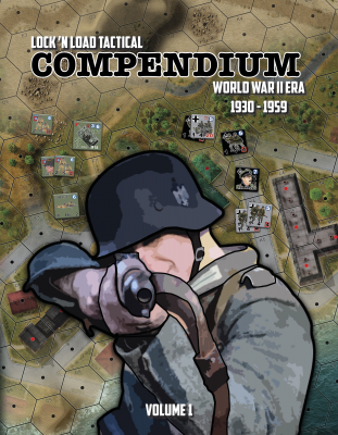 Lock 'n Load Tactical: Compendium Volume 1 World War 2 Era