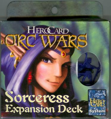 HeroCard Orc Wars Sorceress Expansion Deck