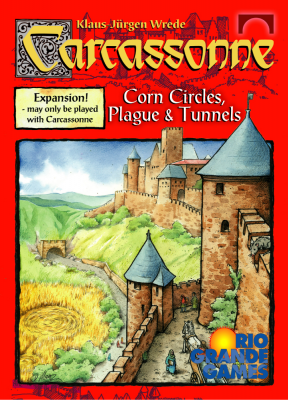 Carcassonne: Corn Circles, Plague & Tunnels