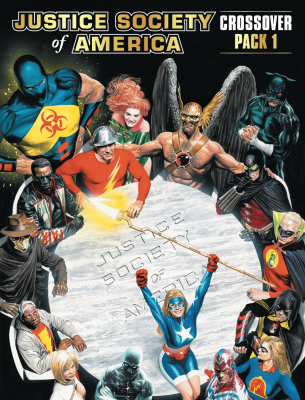 DC Comics Deck-Building Game: Crossover Pack 1 – Justice Society of America