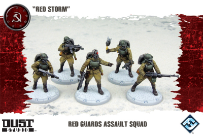 "Dust Tactics: Red Guards Assault Squad - ""Red Storm"""
