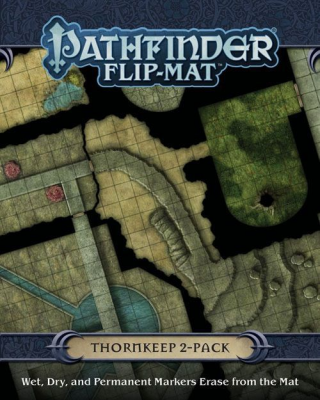 Pathfinder Flip-Mat: Thornkeep 2-Pack
