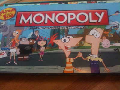 Monopoly: Phineas and Ferb Collector's Edition
