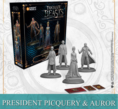 Harry Potter Miniatures Game: President Picquery & Aurors