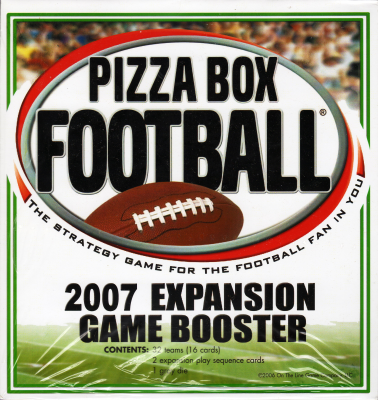Pizza Box Football 2007 Expansion Game Booster
