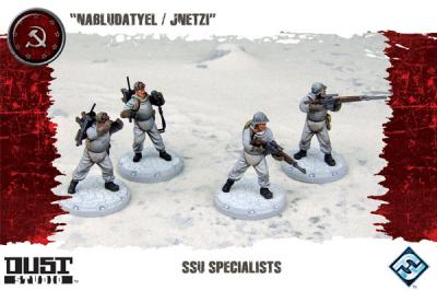 "Dust Tactics: SSU Specialists - ""Nabludatyel / Jnetzi"""