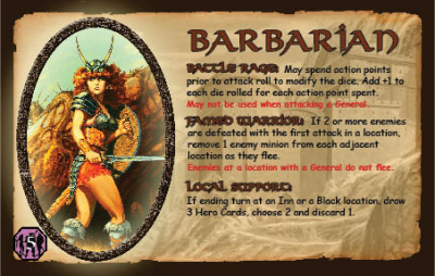 Defenders of the Realm: The Barbarian