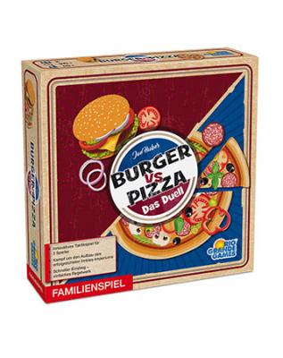 Burger vs. Pizza