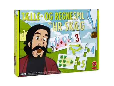 Hr. Skæg: Tælle- og Regnespil