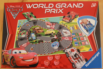 Cars 2: World Grand Prix Board Game