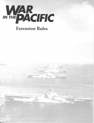 War in the Pacific Extension Kit