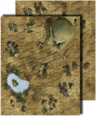 GameMastery Flip-Mat: Desert