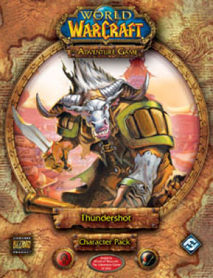 World of Warcraft: The Adventure Game; Thundershot Character Pack