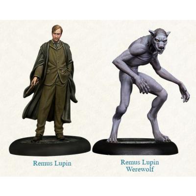 Harry Potter Miniatures Adventure Game: Remus Lupin & Werewolf Form