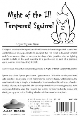 Night of the Ill-Tempered Squirrel