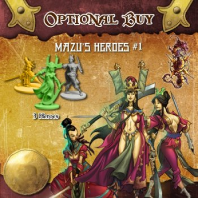 Rum & Bones: Mazu's Dreadful Curse - Hero Set
