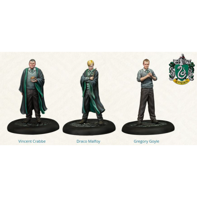 Harry Potter Miniatures Adventure Game: Slytherin Students Pack