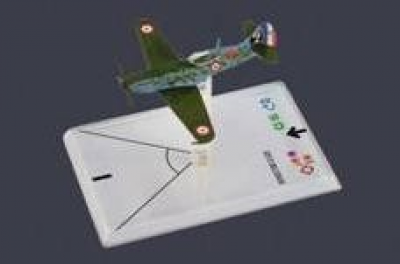 Wings of War: WW2 Airplane Pack - Dewoitine D.520 (Thollon)