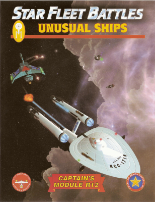 Star Fleet Battles: Module R12 – Unusual Ships