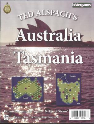 Age of Steam Expansion: Australia & Tasmania