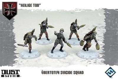 """Dust Tactics: Axis Ubertoten Suicide Squad - """"Heilige Tod"""""""
