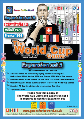 The World Cup Game:  Expansion Set 5