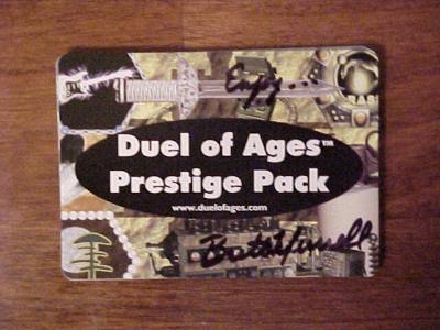 Duel of Ages: Prestige Pack