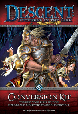 Descent: Journeys in the Dark: Second Edition: Conversion Kit