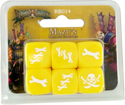 Rum & Bones: Mazu's Dreadful Curse - Dice