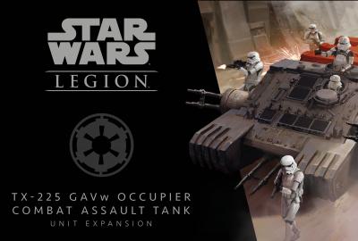 Star Wars: Legion – TX-225 GAVw Occupier Combat Assault Tank Unit Expansion